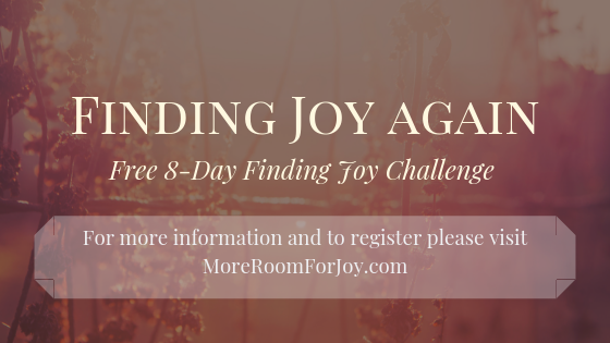 Free 8-Day Finding Joy Challenge