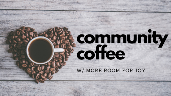 Registration for Community Coffee