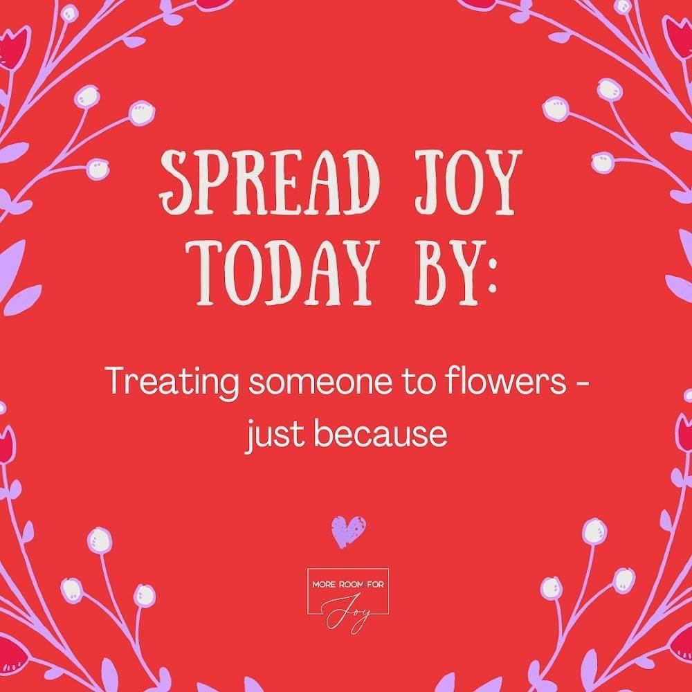 Spread Joy by buy a friend flowers