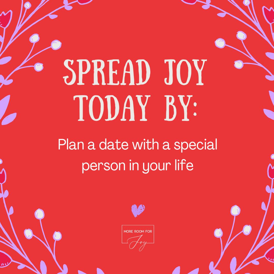 Spread Joy by calling an old friend
